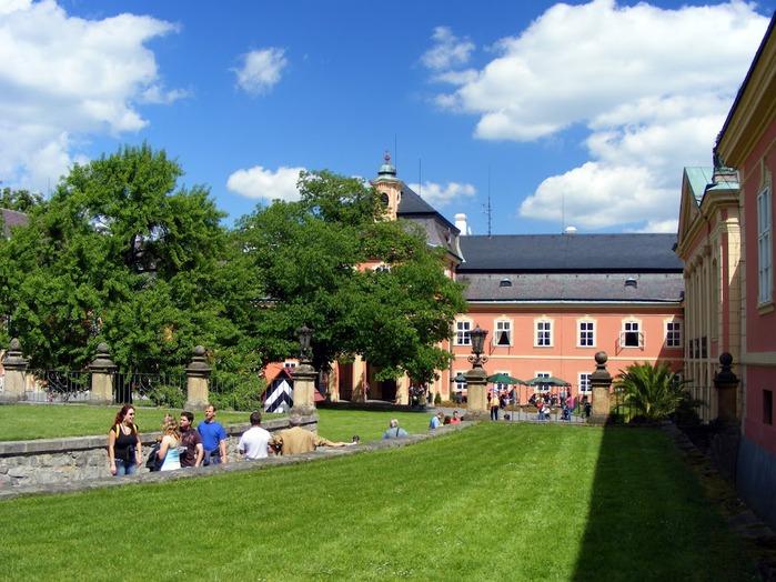 Замок Добриш - королевское имение 83381