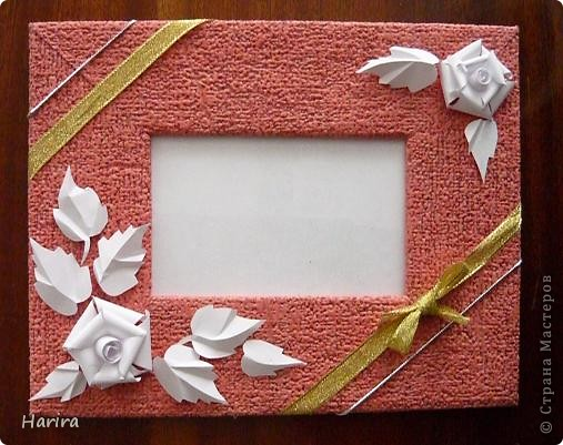 Как сделать рамка для фото своими руками из бумаги