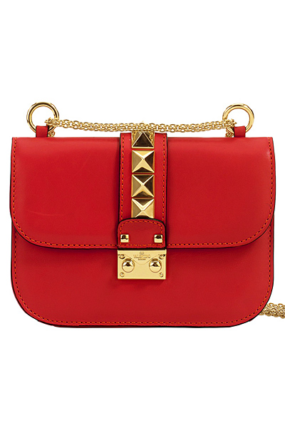 Red Valentino Studded Shoulder Bag 55