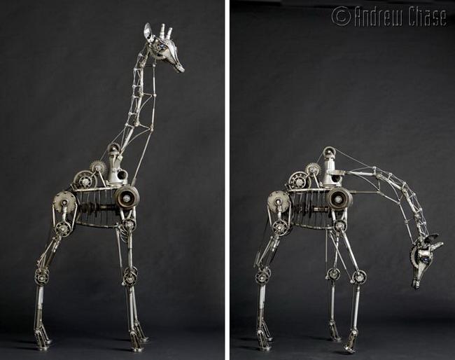 скульптуры в стиле стимпанк (650x514, 200Kb)