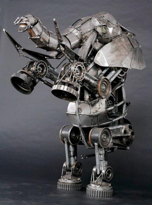 скульптуры в стиле стимпанк 2 (499x670, 228Kb)
