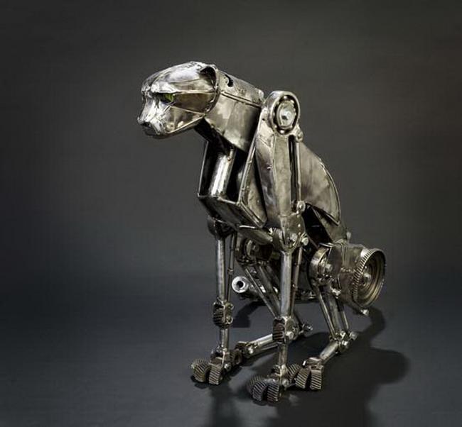 скульптуры в стиле стимпанк 4 (650x602, 214Kb)