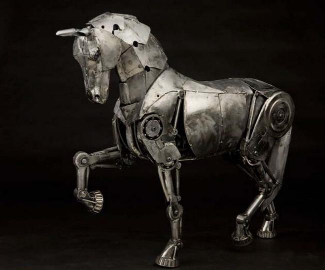 скульптуры в стиле стимпанк 6 (650x541, 179Kb)
