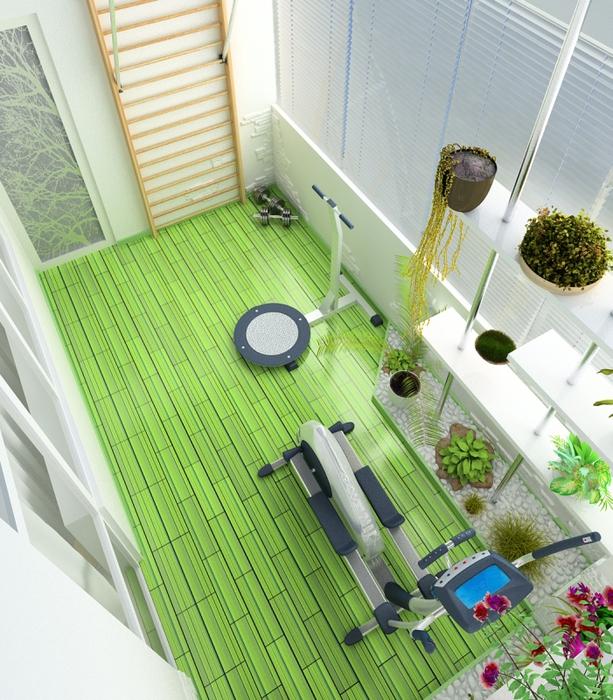 Как сделать полезным балкон?