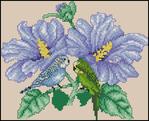 Превью Hibiscus Parakeets (336x273, 105Kb)