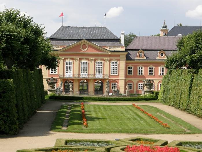 Замок Добриш - королевское имение 80785