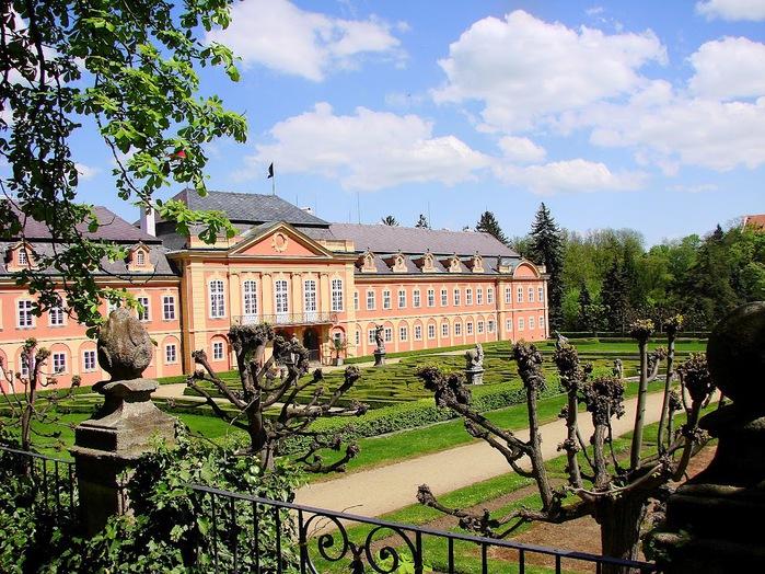 Замок Добриш - королевское имение 95843