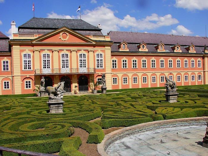 Замок Добриш - королевское имение 94088