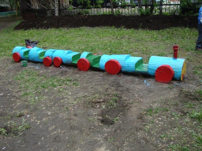 Фото детские площадки своими руками
