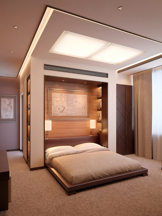 Mission style bedroom