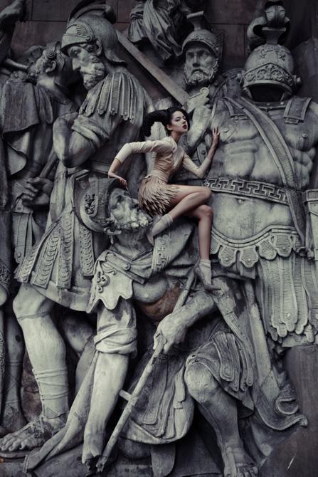 Екатерина Белинская, «Матриархат». (447x670, 230Kb)