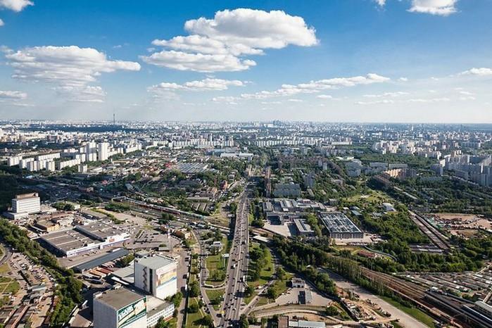 Лучший подарок - достопримечательности Москвы с высоты птичьего полета 2 (700x466, 133Kb)