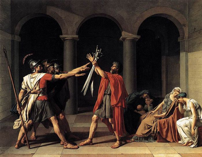 774px-David-Oath_of_the_Horatii-1784 (700x542, 85Kb)