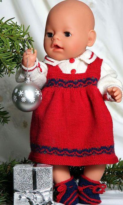 Вязание Для Кукол Беби Бона.