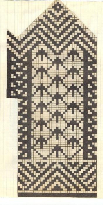 Варежки схемы 24 (352x700, 314Kb)