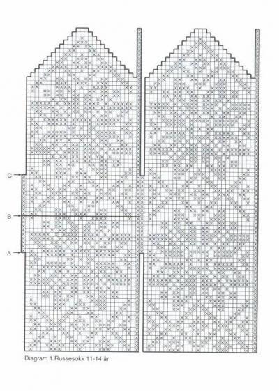 Варежки схемы 33 (400x561, 52Kb)