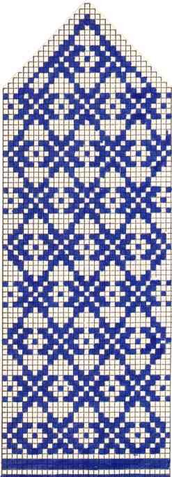 Варежки схемы 35 (247x682, 47Kb)