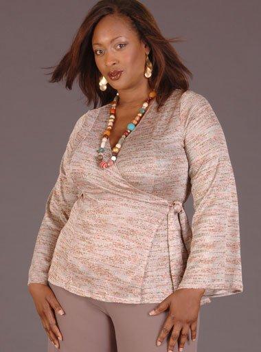 повседневная одежда для полных женщин фото