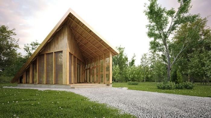 Современный летний домик 13 (700x393, 106Kb)
