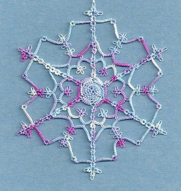 Ice Crystal Snowflake (599x632, 150Kb)