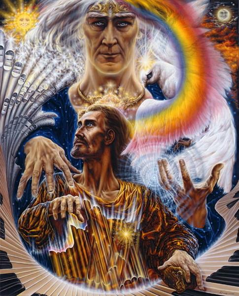 ВДОХНОВЕНИЕ, ОЖИВЛЕНИЕ ОТЦОМ НЕБЕСНЫМ СЫНА БОЖИЯ... (485x600, 127Kb)