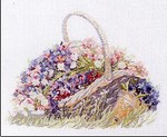 Превью Permin 70 7009 Basket with flowers (234x192, 19Kb)