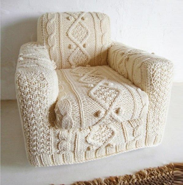 вязаное кресло (597x604, 73Kb)