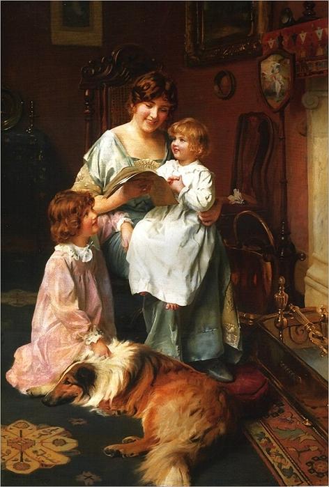 arthur-john-elsley1860-1952-bedtime-story_thumb (472x700, 261Kb)