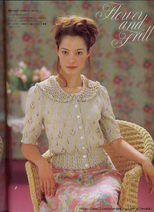 Очень красивое вязание для женщин 63