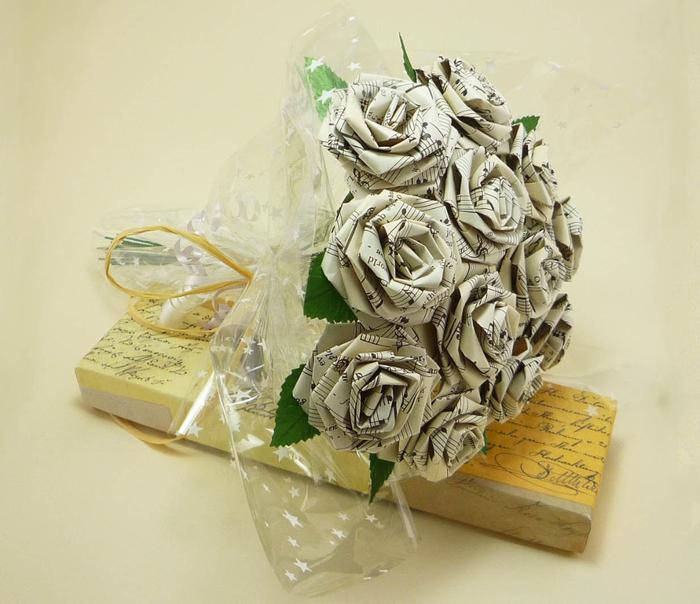 Роза из салфеток своими руками поэтапно