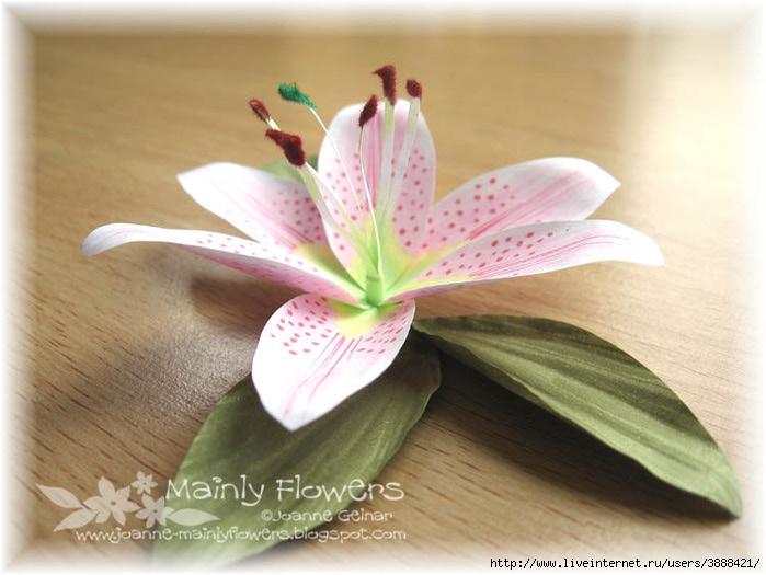 Как своими руками сделать лилию
