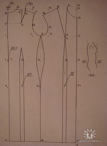 1. Фигура имеет выступающую грудь (ВГ) и выступающие лопатки (ВЛ) (352x480, 27Kb)