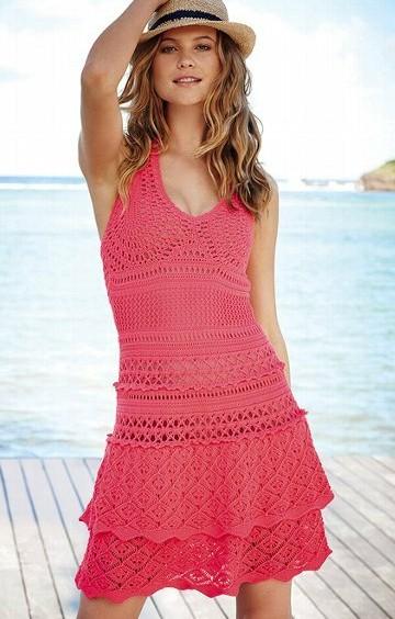 Пляжное платье от