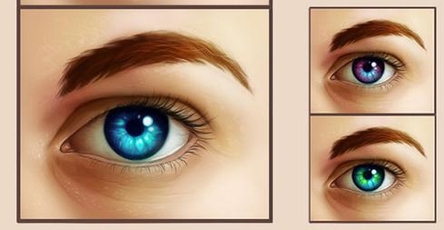 Как сделать светящиеся глаза в гимп