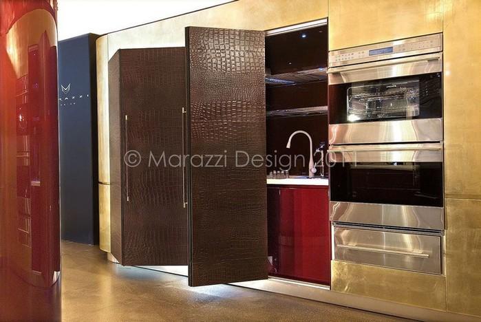 Самая дорогая кухня в мире - Colosseo Oro от студии Marazzi Design 4 (700x468, 96Kb)