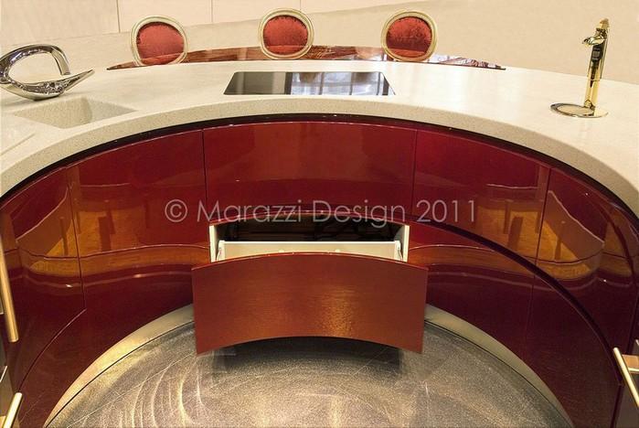 Самая дорогая кухня в мире - Colosseo Oro от студии Marazzi Design 8 (700x468, 95Kb)
