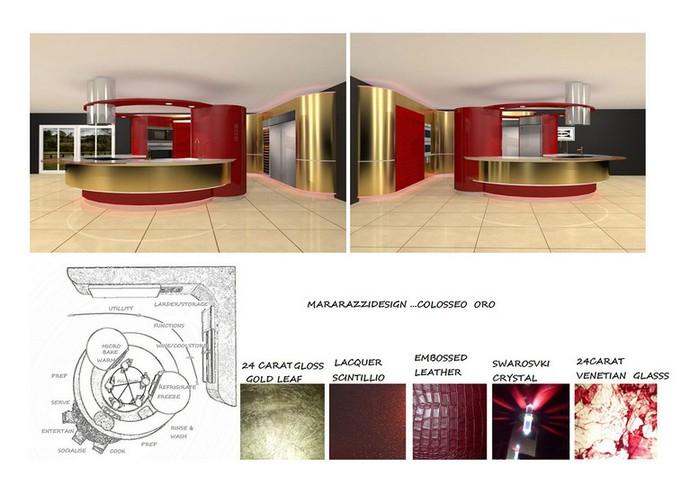 Самая дорогая кухня в мире - Colosseo Oro от студии Marazzi Design 15 (700x494, 71Kb)