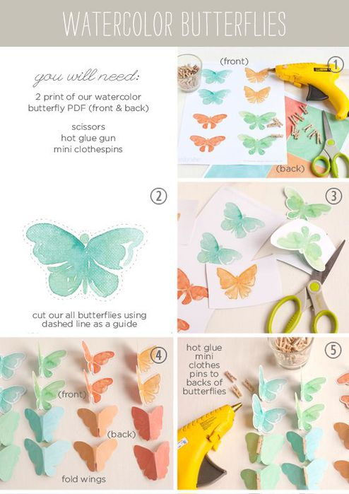 WatercolorButterflyInstructions (494x700, 54Kb)