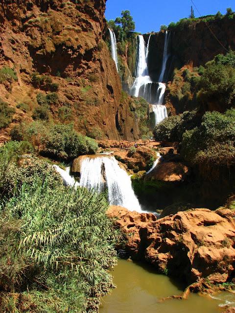 Водопад Узуд– Покрывало влюбленных в Марокко. 92708
