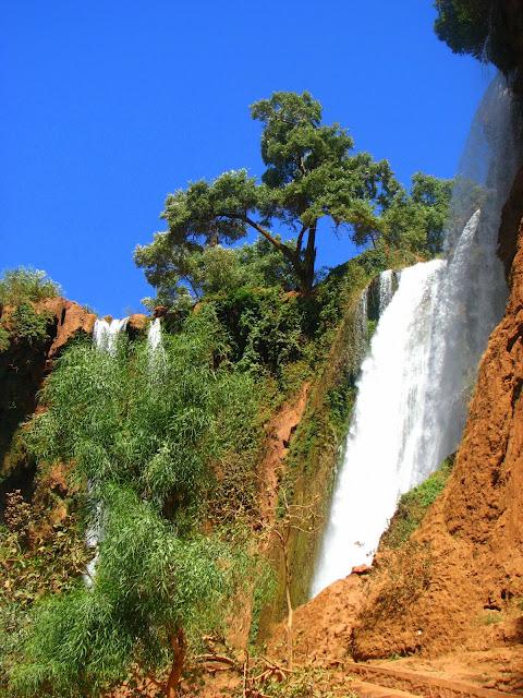 Водопад Узуд– Покрывало влюбленных в Марокко. 88973