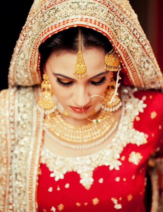 Портретные фото невест из Индии 3 (536x700, 431Kb)