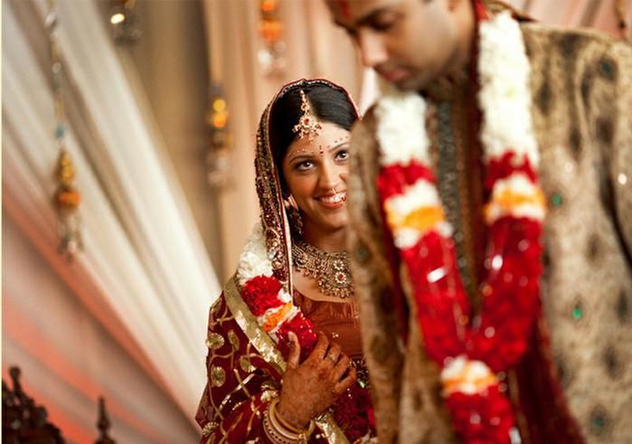 Портретные фото невест из Индии 10 (700x491, 78Kb)