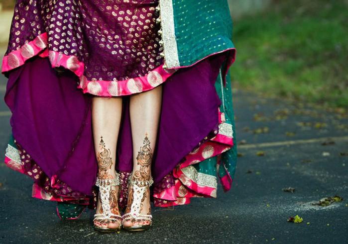 Портретные фото невест из Индии 13 (700x491, 100Kb)
