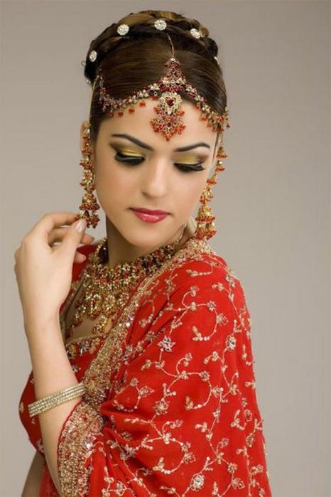 Портретные фото невест из Индии 36 (466x700, 289Kb)