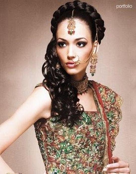 Портретные фото невест из Индии 56 (547x700, 340Kb)