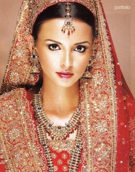 Портретные фото невест из Индии 57 (549x700, 468Kb)
