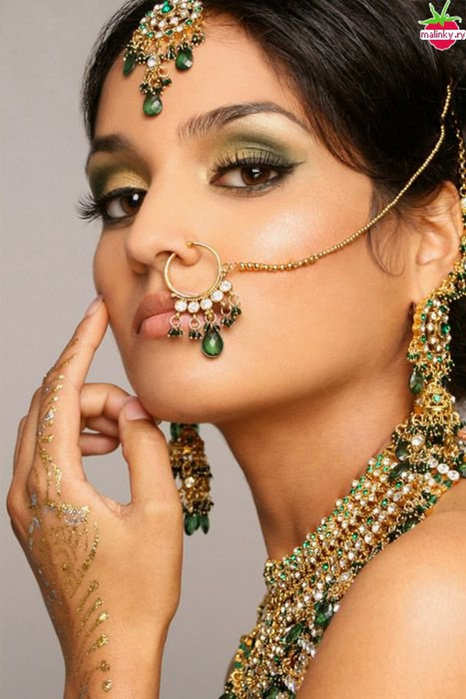 Портретные фото невест из Индии 62 (466x700, 330Kb)