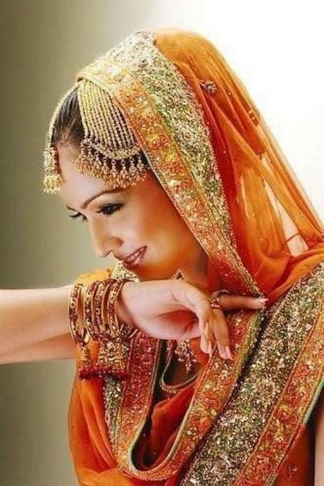 Портретные фото невест из Индии 64 (466x700, 343Kb)