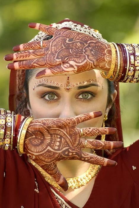 Портретные фото невест из Индии 69 (469x700, 360Kb)
