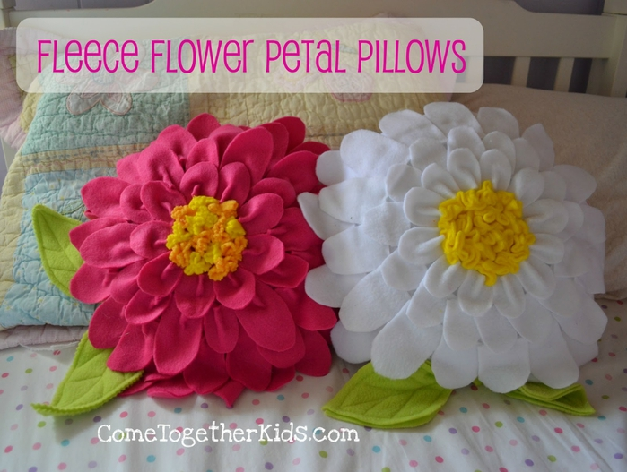 Подушка цветок своими руками